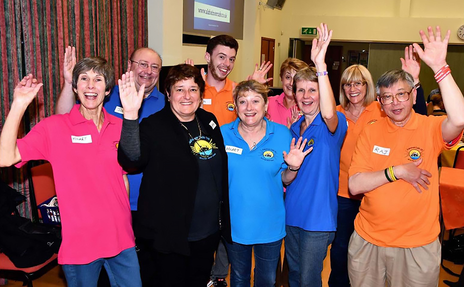 Helpers from The Farnborough Café - Alzheimers Café